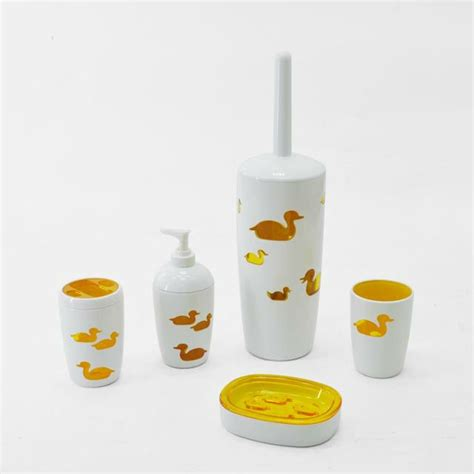 yellow duck bathroom accessories wall yellow duck shape acrylic bathroom accessories