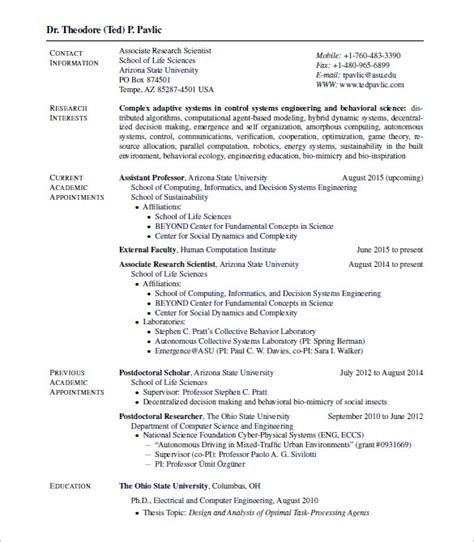 templates for cv in latex 15 latex resume templates free sles exles