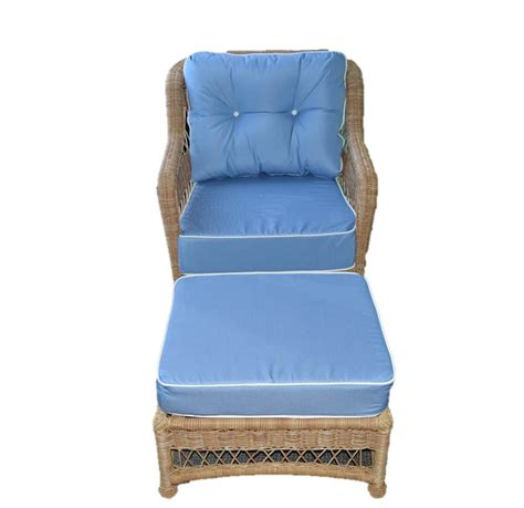 deep seat armchair seat back ottoman cushions for deep seating chairs