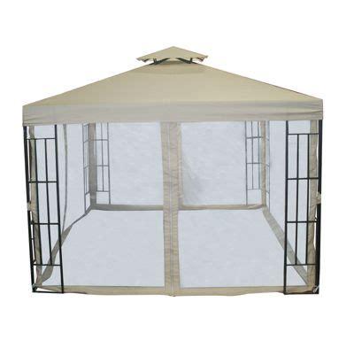 buy bentley garden 3m x 3m steel gazebo with curtains