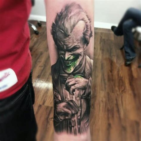 kyle cotterman tattoo second joker for today this time done by kyle cotterman