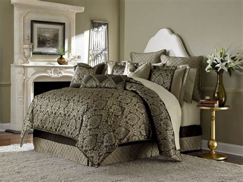 10 piece imperial bronze paisley comforter bedding set