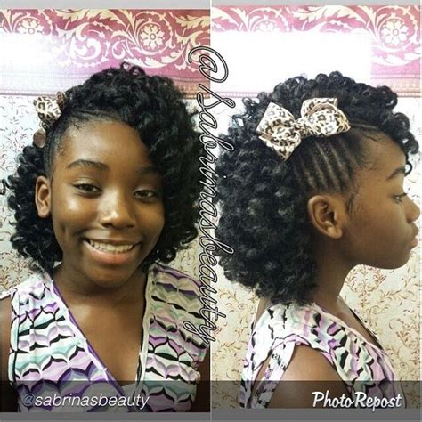 Hairstyles For Relaxed Hair Black Teenagers by 1000 Images About Hairstyles On