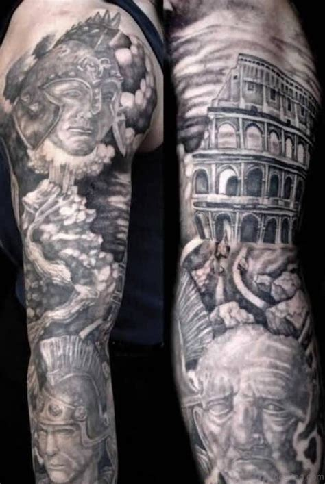 warrior sleeve tattoo designs 60 sleeve for