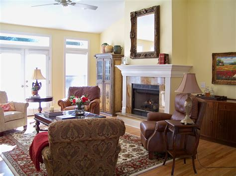 pictures of french country living rooms the comforts of home french country living room before