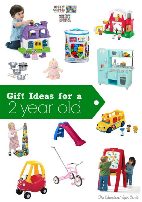 ideas for 2 year old toddler boy christmas gifts birthday gift ideas for two years the educators spin on it