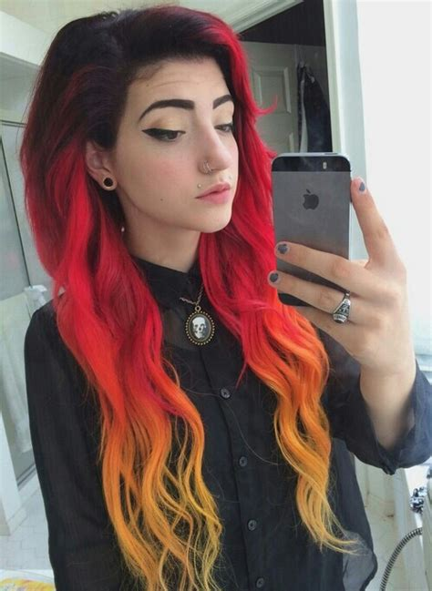 beautiful colored hair beautiful black hair color colored hair dyed dyed
