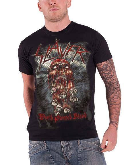 New T Shirt Distro Bloods Original 3 slayer t shirt official band logo in blood thrash metal new mens ebay