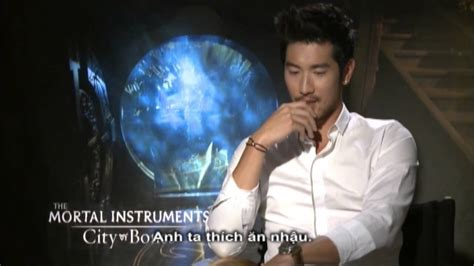 godfrey gao the mortal instruments the mortal instruments city of bones interview với