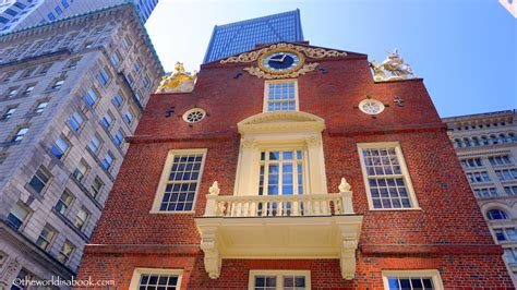 old state house boston walking the freedom trail in boston the world is a book