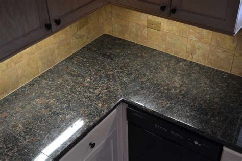Granite Tile For Countertops by Brown Granite Granite Tile Countertop For Kitchen