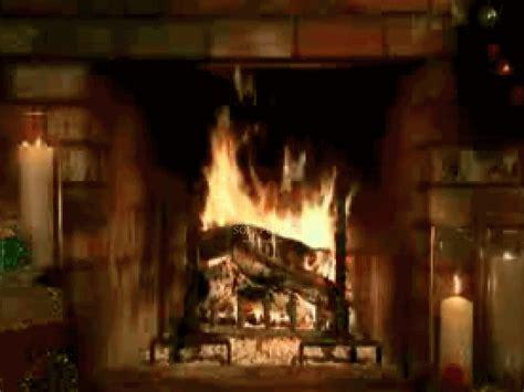 living fireplace screensaver