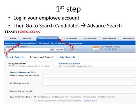 timesjob resume service resume ideas
