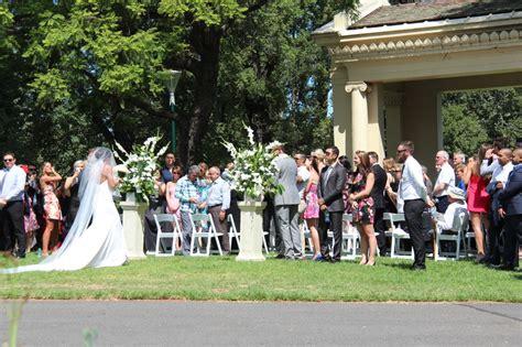 garden wedding ceremonies melbourne a wedding ceremony in fitzroy gardens melbourne routes