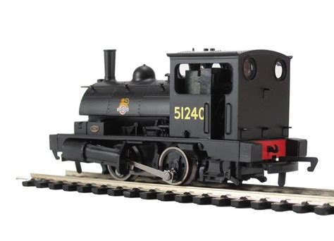 hornby pug hattons co uk hornby r3024 class 0f pug 0 4 0st 51240 in br black with early crest