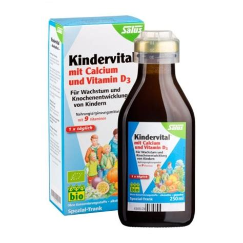 floradix kindervital with calcium vitamins for children