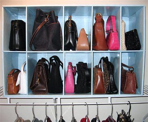 Closet Organizers Ideas by Como Organizar Bolsas Em Casa Vida Organizada
