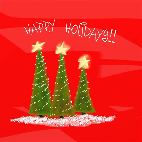 happy holidays from company card template happy holidays card by teddybearcholla on deviantart