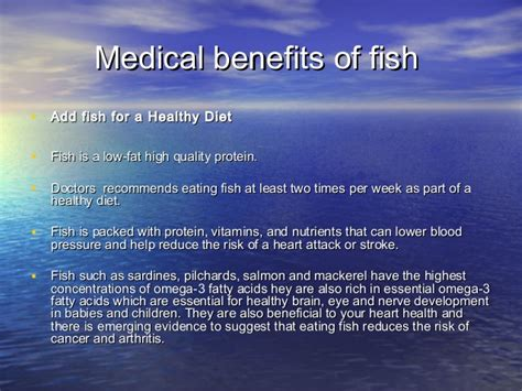 Health Benefits Of Fish by Health Benefits Of Fish