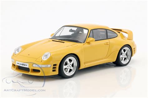 porsche ruf ctr2 porsche 911 993 ruf ctr2 sport year 1997 speed yellow gt