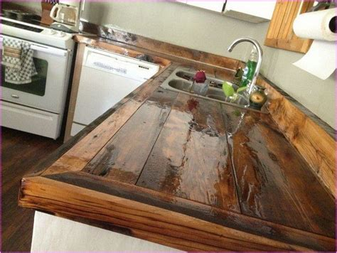 diy wood countertop ideas rustic timber countertops wooden countertops countertops and kitchens