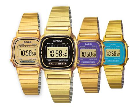 casio piccolo argento prezzo orologio donna casio vintage la 670wg gold acciaio dorato