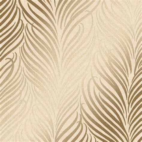 hudson leaf glitter wallpaper cream gold wallpaper