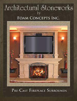 fireplace concepts inc foam catalogs brochures foam concepts inc