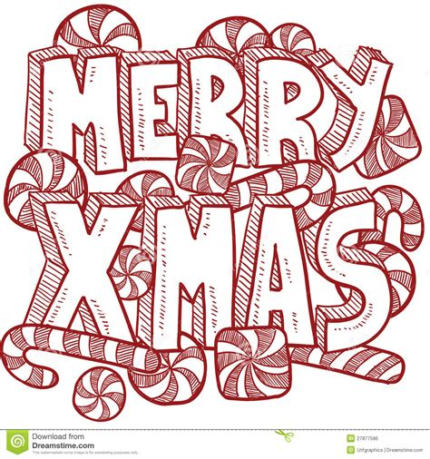merry christmas message vector royalty  stock image image