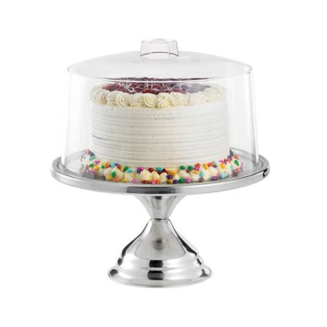 Cake Stand 30cm By Piyoballoon high impact plastic cake stand cover clear 12 quot 30cm