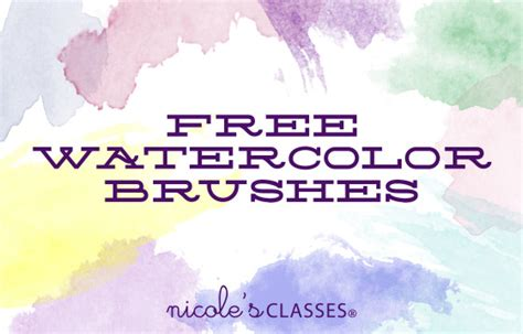 watercolor tutorial download watercolor brushes in photoshop video tutorial free