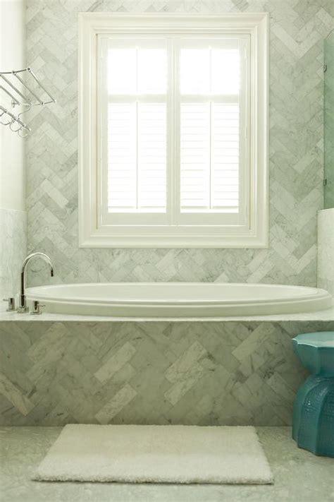 bathroom surround tile ideas herringbone subway tiled surround design ideas