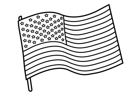 American Flag Coloring Pages Best Coloring Pages For