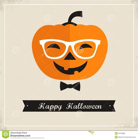 halloween printable greeting cards happy hipster halloween royalty free stock photos image