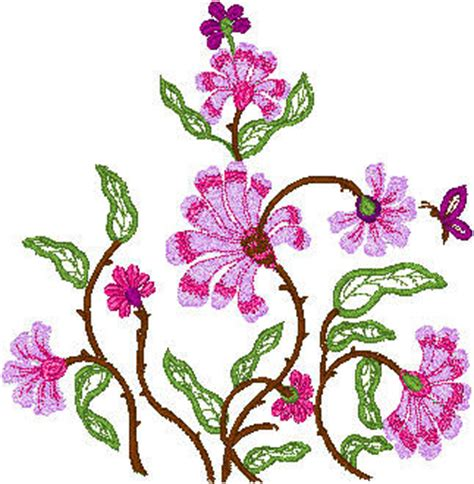 free butterfly hand embroidery embroideryntailoring flowers butterfly desing embroidery