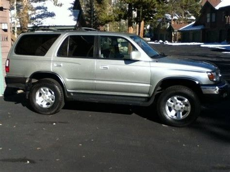 how to sell used cars 1999 toyota 4runner free book repair manuals buy used 1999 toyota 4 runner sr5 v6 4x4 automatic mint low miles in breckenridge colorado
