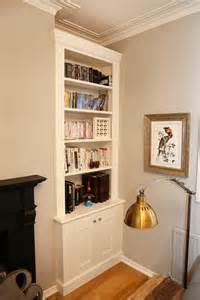 Under The Stairs Storage built in bookshelves bespoke bookcases london furniture