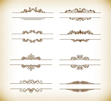header and footer design vector free 16 vector vintage header images vintage ribbon banner