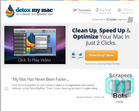 Speedup Monat Detox by Get Detox My Mac Via Coupon Discount Coupons Scrapers