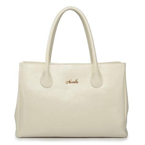Leather Handbag Beige elegance cowhide leather handbag beige