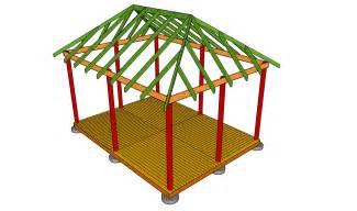 Design Gazebo Roof by Free Gazebo Plans How To Build A Gazebo