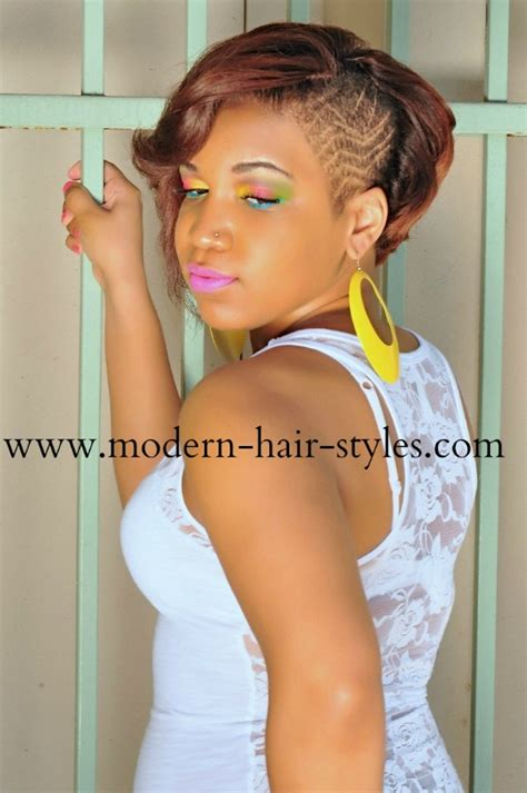 shave one sided short bobs black women photos short black women hairstyles of weaves braids and