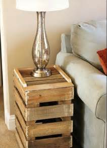 End Table Ideas by 5 Diy Antique Pallet Side Table Ideas 101 Pallets