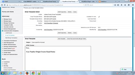 visualforce email template amit 4salesforce how to create visualforce email