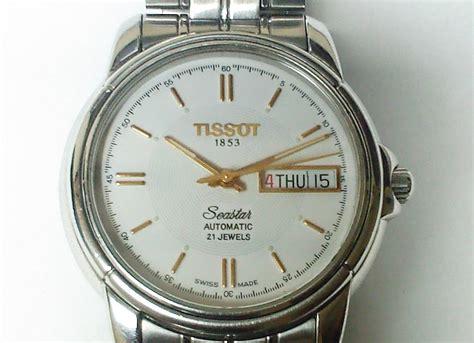 Jam Tangan Tissot Seastar jam mekanik for sale tissot seastar automatic sold