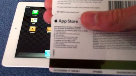 How To Add Gift Card To Itunes On Ipad - how to put an app store itunes gift card on your device ipad iphone ipod touch