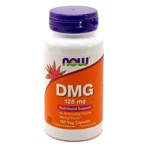 Suplemen Dmg dmg 125 mg by now foods 100 capsules