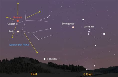 Tonight S Meteor Shower Time by Geminid Meteor Shower Tonight Best Time To 1 3 Am