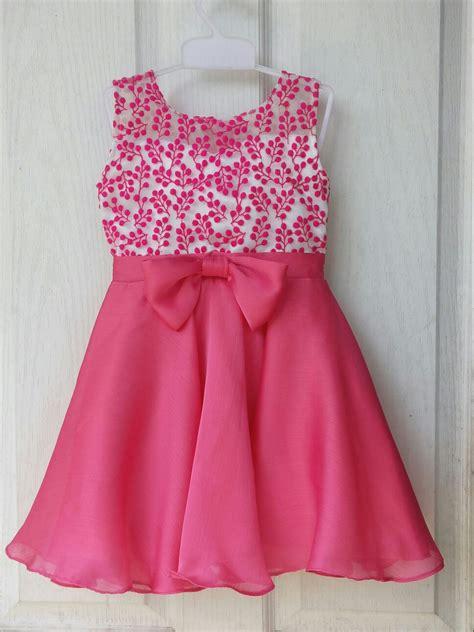 girl dress design pattern flower girl pink dress available size 16 to 26 contact