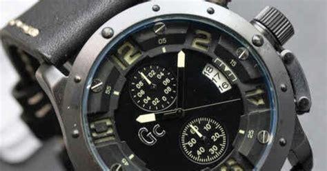 Jam Pria Gc Crono Aktif Combi Leather Black casio g shock kw gc 6381 chrono aktif kw